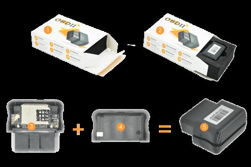 GPS OBD Mini kompletizácia