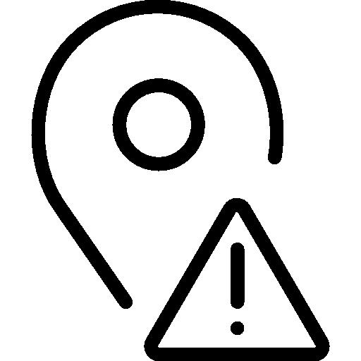 Geofence (oblasti) upozornenie